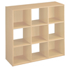 ClosetMaid 9 Alder Laminate Storage Cubes