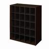 ClosetMaid 25 Espresso Laminate Storage Cubes