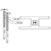 Heavy Duty BBQ Parts 15.875-in Stainless Steel Bar Burner
