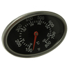 Heavy Duty BBQ Parts Oval Grill Temperature Gauge