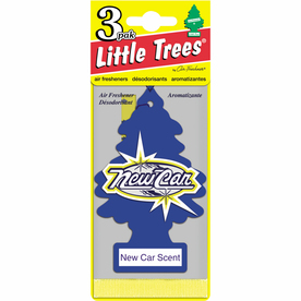 LITTLE TREES LITTLE TREE Air Freshener 3-Pack New Car Scent