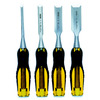 Stanley Fatmax 4-Pack Woodworking Chisels Set