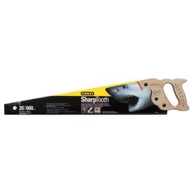 Stanley 26-in Contractor Grade Short Cut Handsaw