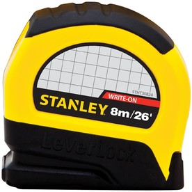 Stanley 26-ft Locking Inch(es) Tape Measure