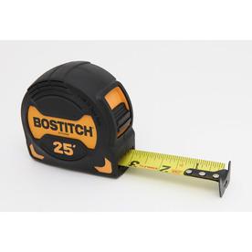Bostitch 25-ft Locking SAE Tape Measure