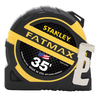 Stanley FatMax 35-ft Yellow ABS and Black Rubber Steel Long Tape