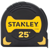 Stanley 25-ft Yellow ABS and Black Rubber Steel Long Tape