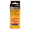 Bostitch 1000-Pack 9/16&#034; x 1/3&#034; Cable/Wire Staples