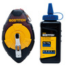 Bostitch Plastic High Visibility Chalk Reel with Blue Chalk