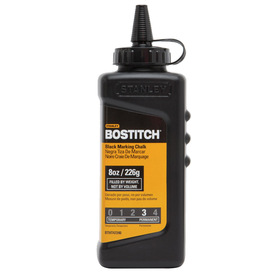 Bostitch 8 oz Black Chalk