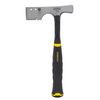 Stanley 13-oz Checkered Straight Handle Hammer