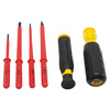 Stanley 4-Piece 4.5-in Multi-Bit Screwdriver