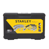 Stanley 68-Piece Standard (SAE) and Metric Mechanic's Tool Set with Hard Case