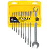 Stanley 10-Piece Standard Matte Metric Wrench Set
