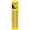 Stanley 10-Piece Metric 1/4-in Drive 12-Point Socket Set with Case