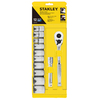 Stanley 12-Piece Metric Mechanic's Tool Set with Hard Case