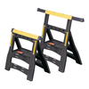 Stanley 2-Pack 29-3/8-in Plastic Saw Horses