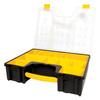 Stanley 13.5-in Yellow Plastic Lockable Tool Box