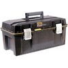 Stanley Fatmax 12-in Black Plastic Lockable Tool Box