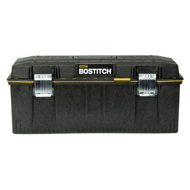 Stanley 12-in Black Structural Foam Lockable Tool Box