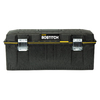 Stanley 12.5-in 0-Drawer Lockable Black Structural Foam Tool Box