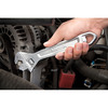 Bostitch 10-in Chrome Vanadium Steel Adjustable Wrench
