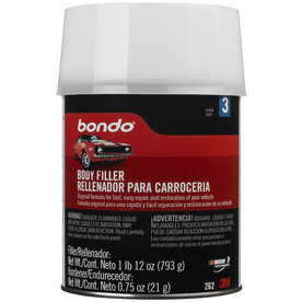 shop bondo 28 oz lightweight filler at