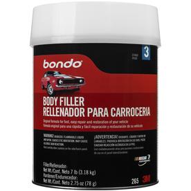 shop bondo lightweight filler 1 gallon can at