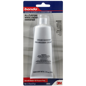 Bondo 2.75-oz All-Purpose White Cream Hardener