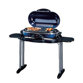 Coleman Road Trip Blue 1 lb Cylinder Piezo Ignition Portable Gas Grill