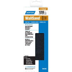 Norton 120-Grit 4-3/16-in W x 11-1/4-in L Sanding Screen Sandpaper
