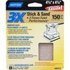 Norton 4-Pack 150-Grit Sheet Sandpaper