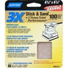 Norton 4-Pack 100-Grit Sheet Sandpaper
