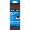 Norton 2-Pack 120-Grit Belt Sandpaper