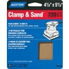 Norton 6-Pack 220-Grit 5.3-in W x 6.5-in L Sheet Sandpaper