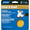 Norton 5-Pack 40-Grit 5.8-in W x 6.2-in L Disc Sandpaper