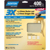 Norton 4-Pack 400-Grit 9.7-in W x 11.8-in L Sheet Sandpaper