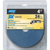 Norton 3-Pack 5.25-in W x 6-in L Disc Sandpaper