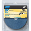 Norton 3-Pack 5.25-in W x 6-in L 50-Grit Commercial Disc Sandpaper