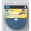 Norton 3-Pack 50-Grit 5-in W x 5.5-in L Disc Sandpaper