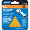 Norton 5-Pack 80-Grit Detail Sheet Sandpaper