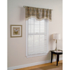 Style Selections Raja 16-in Steel Polyester Rod Pocket Valance