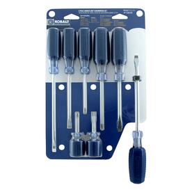 Kobalt 8-Piece Variety Pack Screwdriver Set