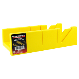 "Task Force 12"" Plastic Miter Box"