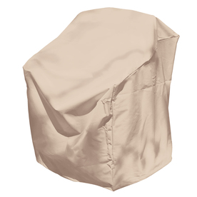 Shop Elemental Taupe Dining Chair Cover At