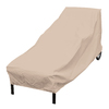elemental Taupe Chaise Lounge Cover