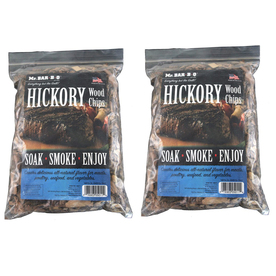 Mr. Bar-B-Q 2-Pack 4-cu in Hickory Wood Chips