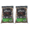 Mr. Bar-B-Q 2-Pack 4-cu in Apple Wood Chips