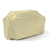 Mr. Bar-B-Q Backyard Basics Taupe Polyester 80-in Gas Grill Cover