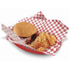 Mr. Bar-B-Q 4-Pack 10.5-in x 7-in Serving Baskets with Liners